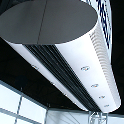 The original design air curtains 600 series for prestigious buildings