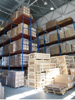 Due to the multilevel storage system up to 50000 items can be stored at the same time.